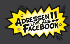 Adressen live aus Facebook